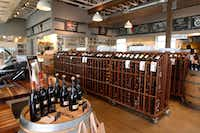 Interior of CiboDivino Marketplace in Dallas. (David Woo/Staff Photographer)