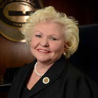 Garland City Council member Anita Goebel resigned Tuesday, but will serve until replaced in the May election.(City of Garland/Courtesy)