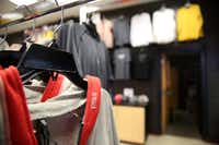 The RISE clothing store at the Duncanville Fieldhouse is owned by brothers Tim Maiden and Terrence Maiden, who give 11 percent of the proceeds to charitable organizations.(Rose Baca/Staff Photographer)