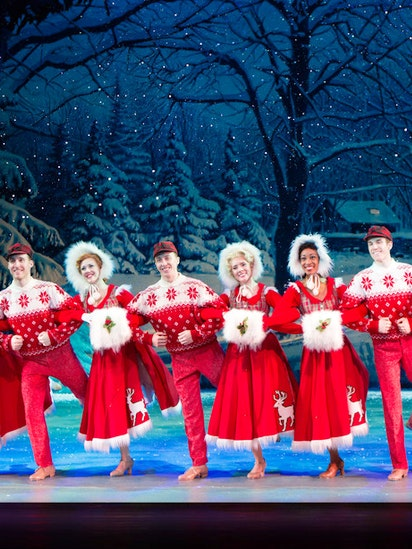 why was irving berlin dreaming of a white christmas hear the story before seeing the show