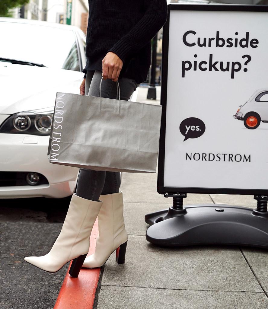 Image result for nordstrom curbside pickup