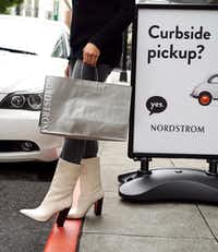 Nordstrom has offered curbside service at its Dallas NorthPark Center store since 2015. For holiday 2017, it's making the service available 24/7 from Dec. 16-24.(Courtesy photo/Nordstrom)