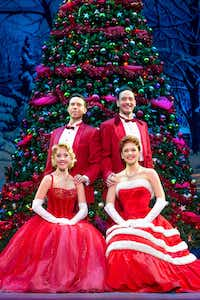 <p>Irving Berlin's<i> White Christmas.  </i>Clockwise from top left:  Jeremy Benton, Sean Montgomery, Kerry Conte and Kelly Sheehan. </p>(<p>Jeremy Daniel</p>)
