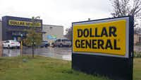 Dallas police say the Dollar General store, at 4807 Sunnyvale St. in Dallas, where Gabrielle Monique Simmons was killed Monday, has been robbed several times previously.(James Ragland/Dallas Morning News)