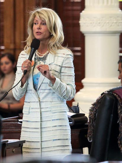 Sandra Bullock to play Wendy Davis in abortion filibuster movie 'Let