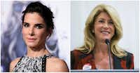 "Sandra Bullock (left) is poised to play former Sen. Wendy Davis in the new movie ""Let Her Speak.""(<p>Richard Shotwell/Invision/AP and Ashley Landis/The Dallas Morning News</p>)"