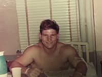 Navy Hospital Corpsman Mike Kuklenski spent a month at a hospital in Japan recovering from wounds he received during a battle near Da Nang, Vietnam, on May 29, 1969.(Courtesy Mike Kuklenski )