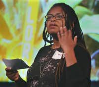 Andrea Roberts will be the keynote speaker at the David Dillon Symposium. She is an assistant professor of landscape architecture and urban planning at Texas A&M University.(Richard Nira/Texas A&M)