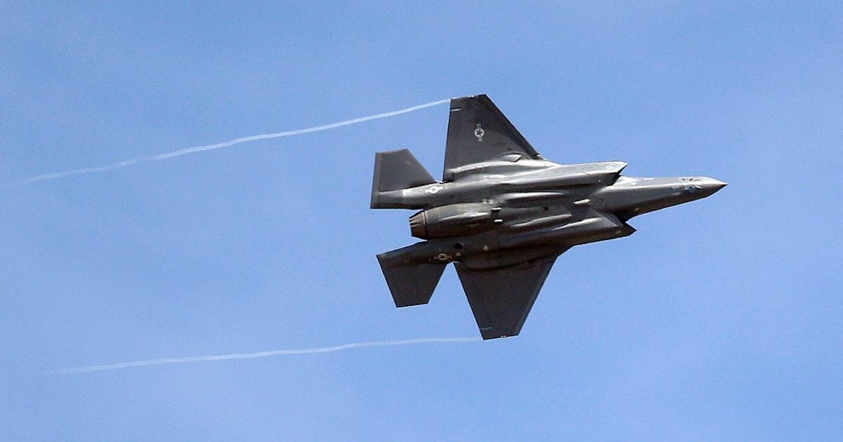 Lockheed Martin S F 35 Hires Undergo Rigorous Screening For High