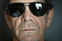 Lou Reed in New York, Sept. 13, 2011.(Chad Batka/The New York Times)