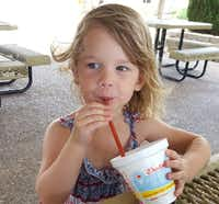 Olivia Steinborn, 4, who died after being taken to Excel ER in Keller (Courtesy)