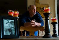 Richard Ford stands by his dining room table in his home in Cypress on Nov. 10, 2017. In 2014, Ford's daughter died from using a toxic pain cream from a Houston compounding pharmacy called Diamond Pharmacy.(Annie Mulligan/Special Contributor)