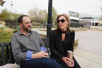 Adam King, with wife Kim, says,  What s the point of coming here to buy something you can get at Target? (Alfonso Cevola/Special Contributor)