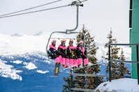 Pretty in pink at Marmot Basin, Jasper(Jasper Pride Festival/Jasper Event Management/Jasper Pride Festival)