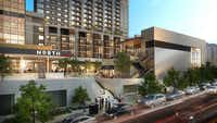 The Union mixed-use project in Uptown was designed by Dallas architect HKS.(HKS)