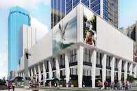 <p>California-based Drever Capital Management has been working for two years to convert the vacant skyscraper at 1401 Elm Street into a combination of apartments, retail, office space and hotel rooms</p>(MAA)