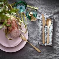 DINERA, 18-piece dinnerware set, $34.99, Ikea(Ikea)