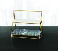 Hotel Collection, Two-Tier Marble Server, $134, Macy's(Macy's)