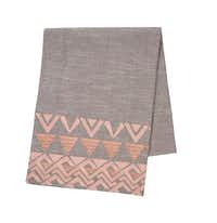Project 62 Gray Metallic Rose Table Runner, $17.99, Target(Target)