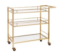 Martha Stewart Collection Bar Cart, $286, Macy's(Macy's)