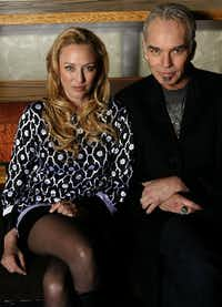 "Billy Bob Thornton made a Dallas appearance with Virginia Madsen in 2007 while promoting ""The Astronaut Farmer."" (Nathan Hunsinger/Staff Photographer)"