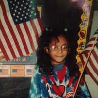 Reporter Cassandra Jaramillo in elementary school.(Cassandra Jaramillo)