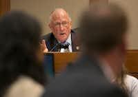 Sen. Bob Hall, R-Edgewood(Deborah Cannon/Austin American-Statesman)
