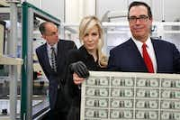 "Treasury Secretary Steven Mnuchin has admitted that repealing the estate tax ""disproportionately helps rich people.""(Jacquelyn Martin/The Associated Press)"