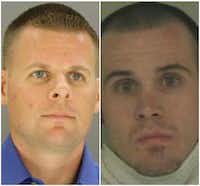The manslaughter trial of Patrick Tuter (left) in the death of Michael Allen ended in a mistrial.