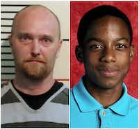 Roy Oliver (left) killed Jordan Edwards.