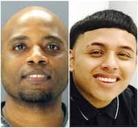 Ken Johnson (left) is charged with murder in the death of 16-year-old Jose Cruz.