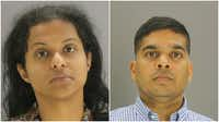 Sini Mathews  and Wesley Mathews are both being held in the Dallas County Jail.