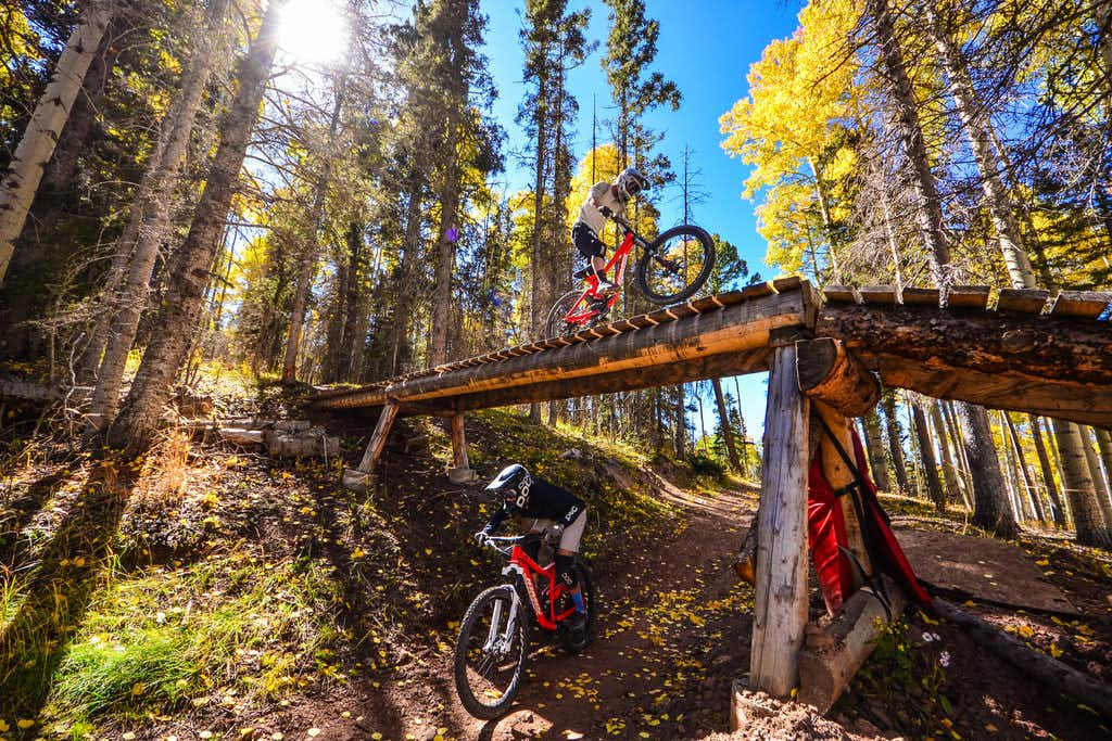 Angel Fire Resort in Northern New Mexico offers zip-lining and ATV activities.(Angel Fire Resort)