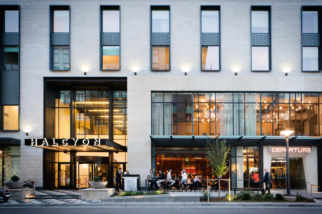 The Halcyon Hotel in Denver is a seven-story luxury property.(Halcyon Hotel)