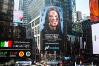 LGI Homes recognizes its top salesperson monthly by displaying his or her picture on the Nasdaq Tower in Times Square.(LGI Homes<div><br></div><div><br></div>)