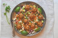 Cauliflower Asian-Style Veggieballs (Ellise Pierce/Special Contributor)