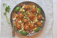 Cauliflower Asian-Style Veggieballs(Ellise Pierce/Special Contributor)