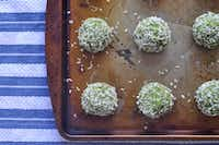 Chickpea and Spinach No-Meatballs (Ellise Pierce/Special Contributor)