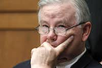 In this 2010 file photo, Rep. Joe Barton, R-Texas, listens to opening statements from members of Congress(Haraz N. Ghanbari/AP)