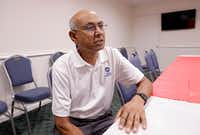 Best Western general manager Manhar Das still has 18 families staying at his hotel with federal assistance.  Nearly 40 families were taken into the hotel by Das the week the hurricane hit.(Michael Wyke/Special Contributor)