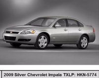 A picture of a stock silver Chevrolet Impala(Dallas police)