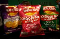 Bags of crisps are among concessions offered at Theatre Britain.(Anja Schlein/Special Contributor)