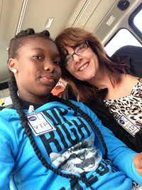 Sue Birch became a Big Sister to Kia Brown through the Big Brothers Big Sisters program of North Texas.(Sue Birch)