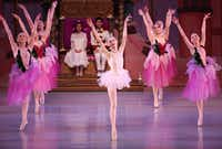 Chamberlain Performing Arts students perform in <i>The Nutcracker</i> at the Eisemann Center in Richardson on Nov. 25.(Rose Baca/Staff Photographer)