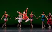 Madelaine Boyce in Avant Chamber Ballet's <i>Nutcracker: Short and Suite</i>.(Sharen Bradford)