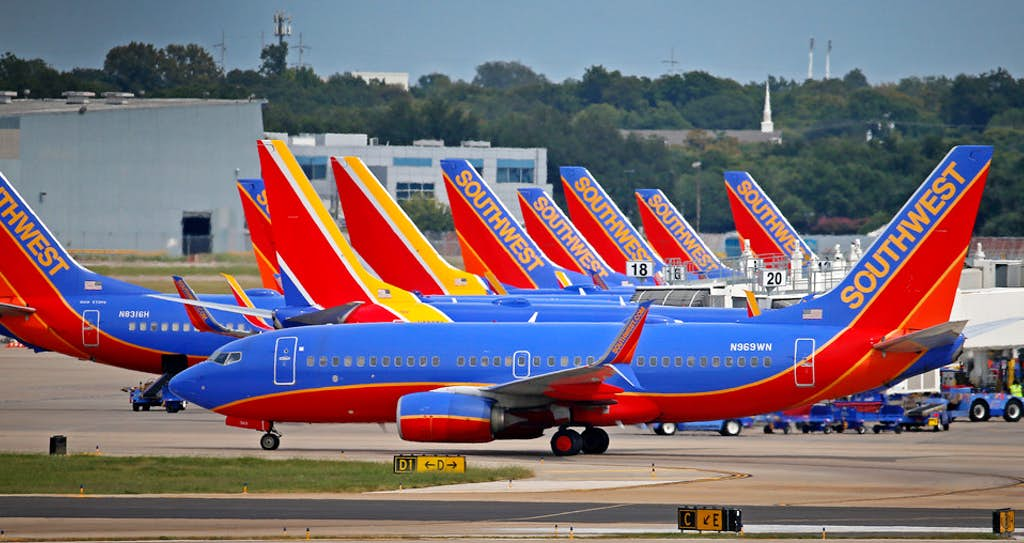 southwest airlines efas ifas