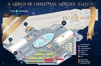 Here's an overhead graphic illustration of what the grounds of Enchant Christmas look like in Arlington.(EnchantChristmas.com)