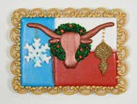 Suzanne Whitbourne earned third place in the Texas category for her Merry Tex-mas Sugar Cookies.(Andy Jacobsohn/Staff Photographer)