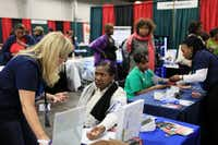 Kwanzaafest on Dec. 9-10 will include its usual wide array of free health screenings. (2013 file photo)