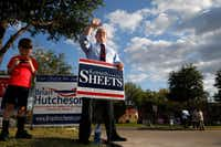 Kenneth Sheets has been endorsed in the race by Dallas Rep. Pete Sessions.(File Photo/Nathan Hunsinger )